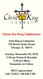 Christ the King Celeb