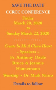 Save date 2020 conference